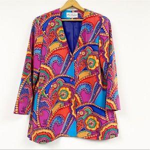 Vintage Gorgeous Colorful Blazer
